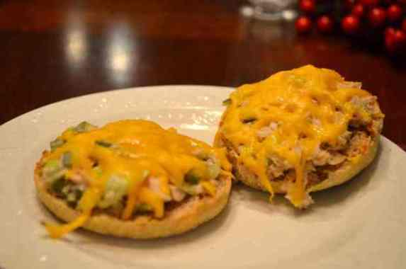 Dill-licious Low-Fat Tuna Melt!