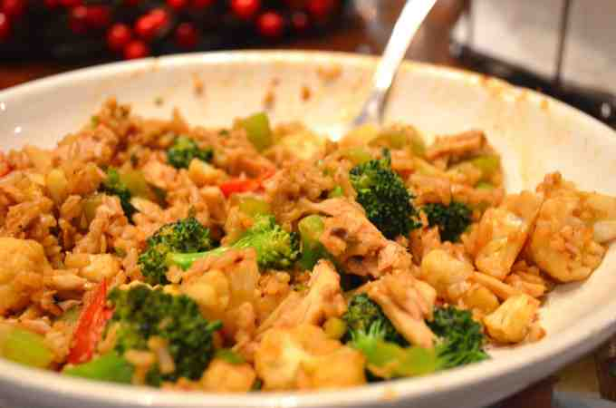 Sugar-free Sweet Sauce Lemon Stir Fry