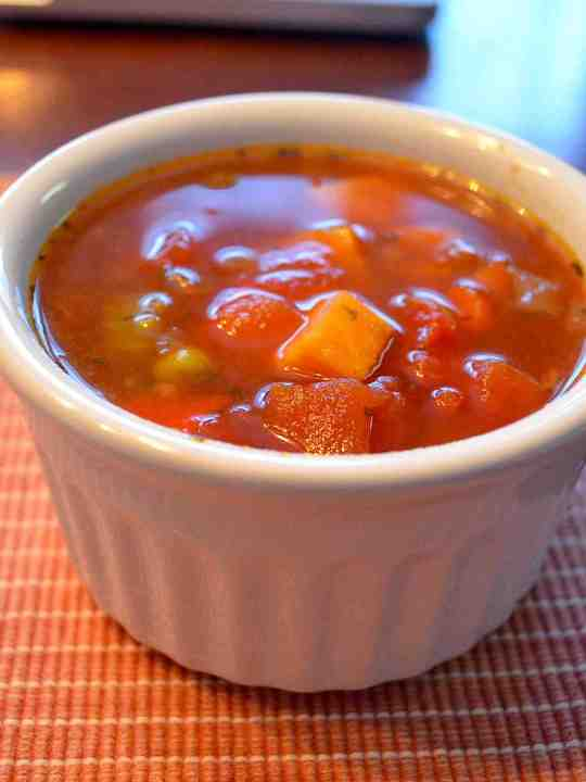 Homemade Campbell's Vegetable Soup