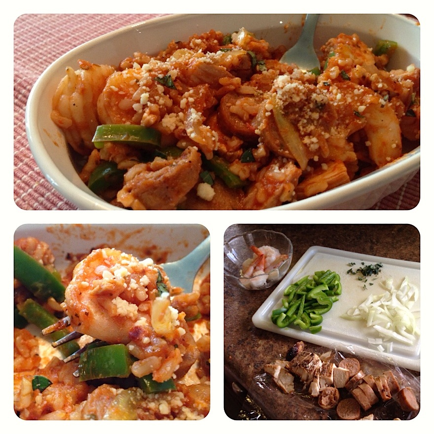 Healthy Spicy Jambalaya!
