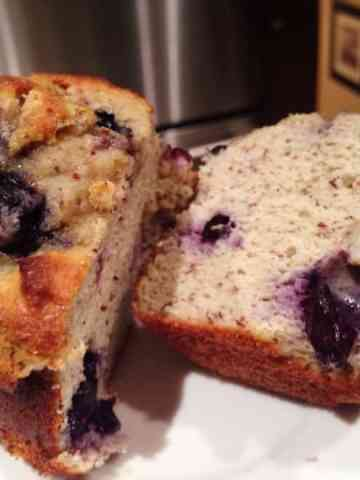 GIANT Blueberry COR-Fetti Muffin