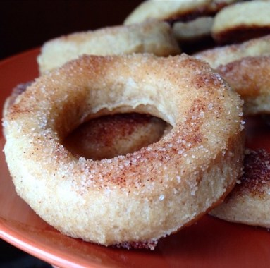 Mini Cinnamon Sugar Protein Donuts