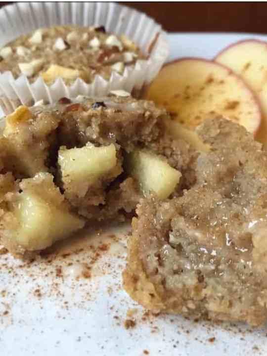 Gluten-Free, Dairy-Free, Apple Cinnamon Breakfast Muffins