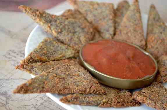 KETO Pizza Crackers (High Protein)
