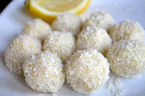 Keto Lemon Coconut Balls (No-Bake)