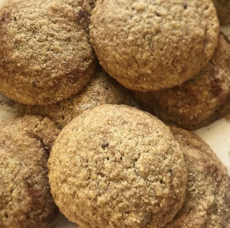 Gluten-Free Snickerdoodle Cookies(Keto Option)