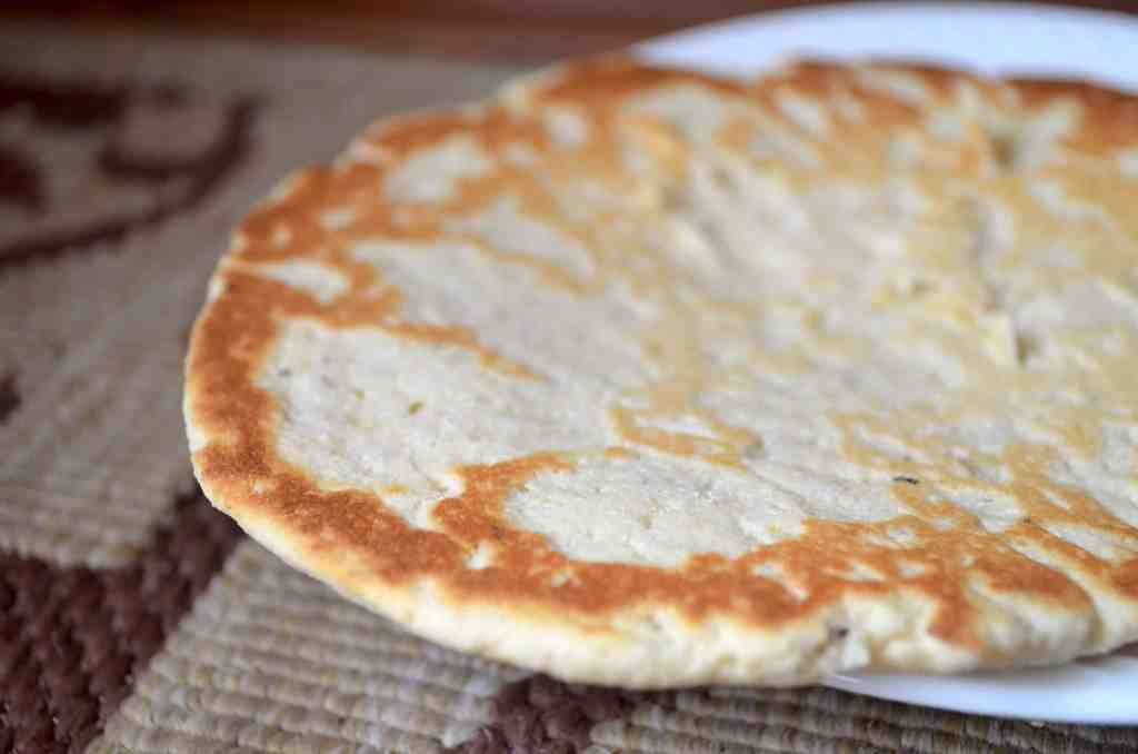 The Amazing 8 Min Low-Carb Flat Bread