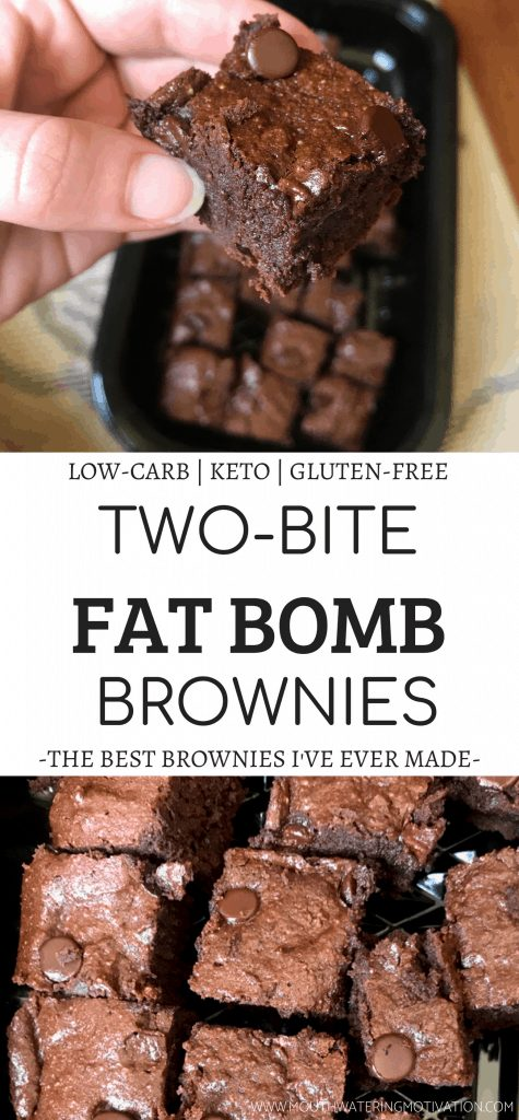 TWO-BITE FAT BOMB BROWNIES