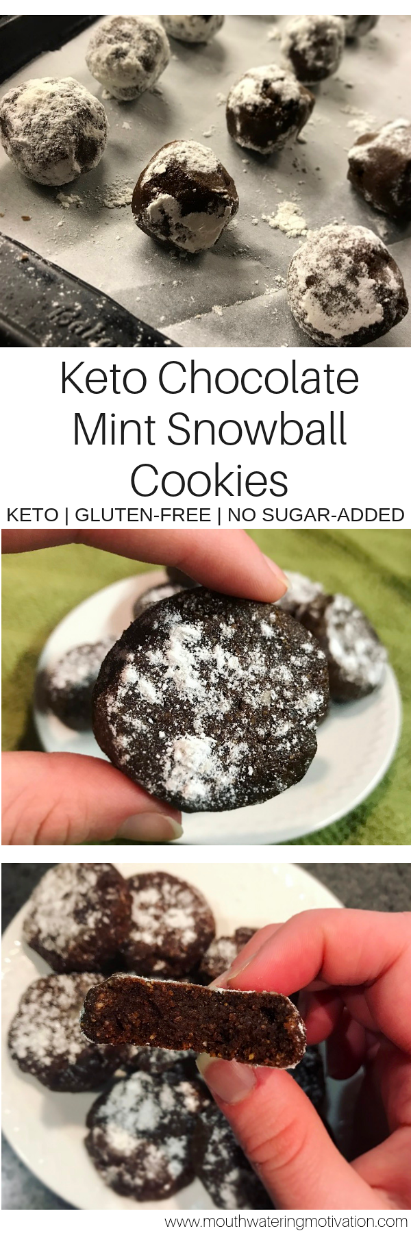 keto chocolate mint cookies
