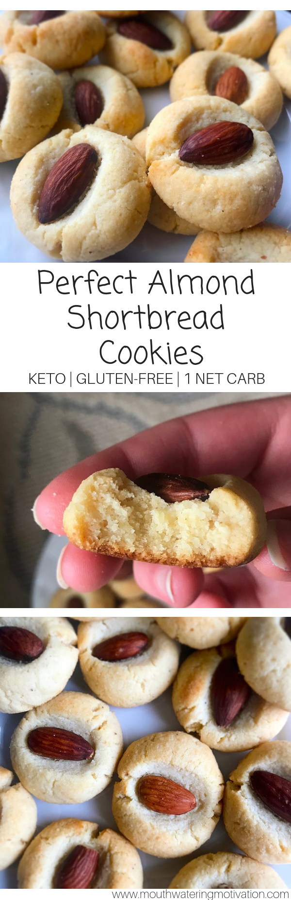 perfect keto shortbread cookies