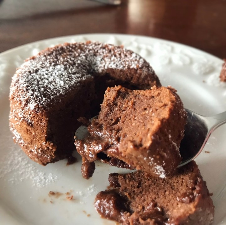 The BEST Keto Lava Cake..For One