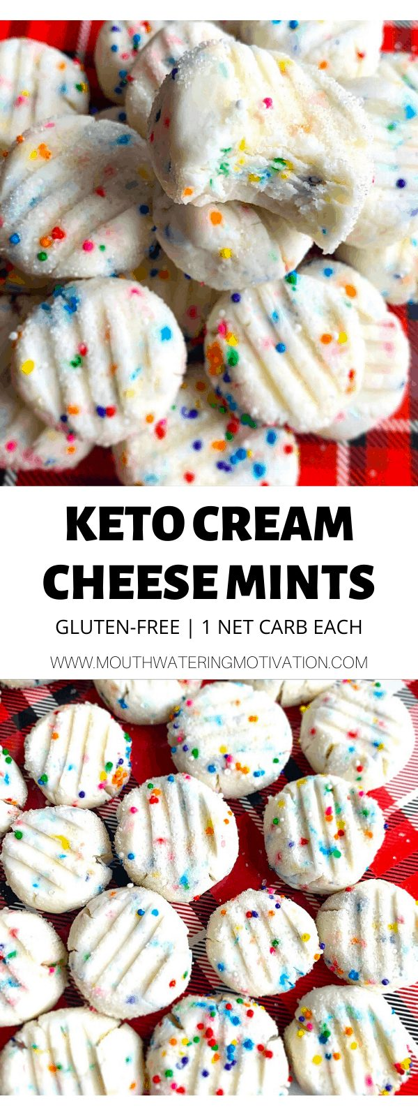 keto cream cheese mints