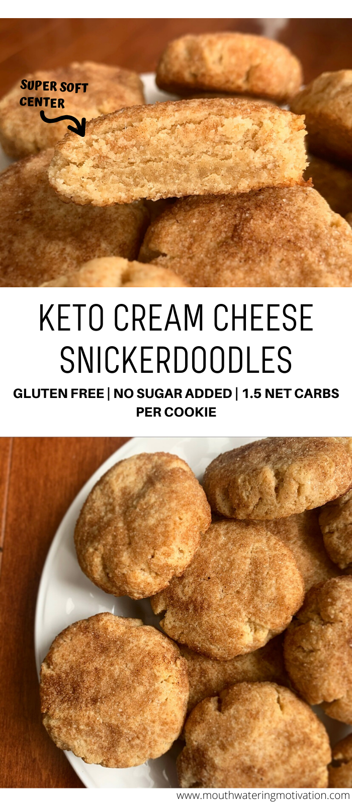 keto cream cheese snickerdoodles