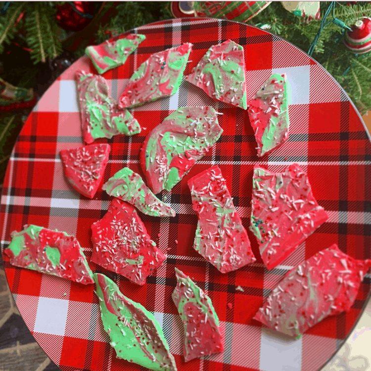 Keto Christmas Bark