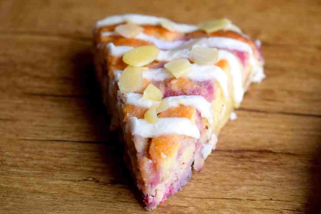 low carb raspberry almond scones