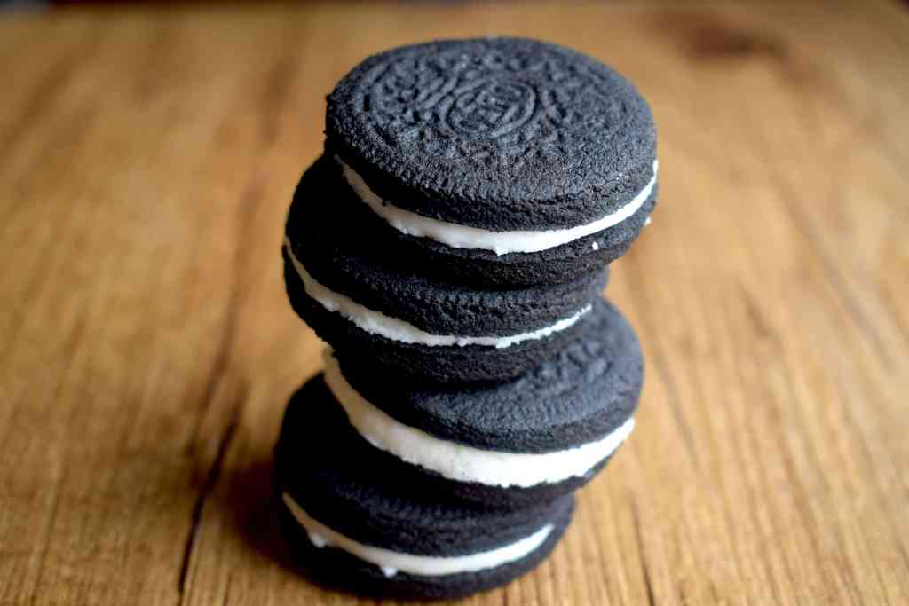 stacked Keto Oreos