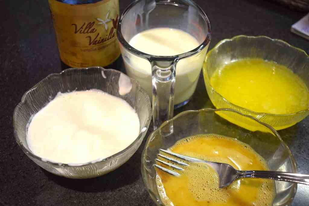 keto cinnamon rolls wet ingredients