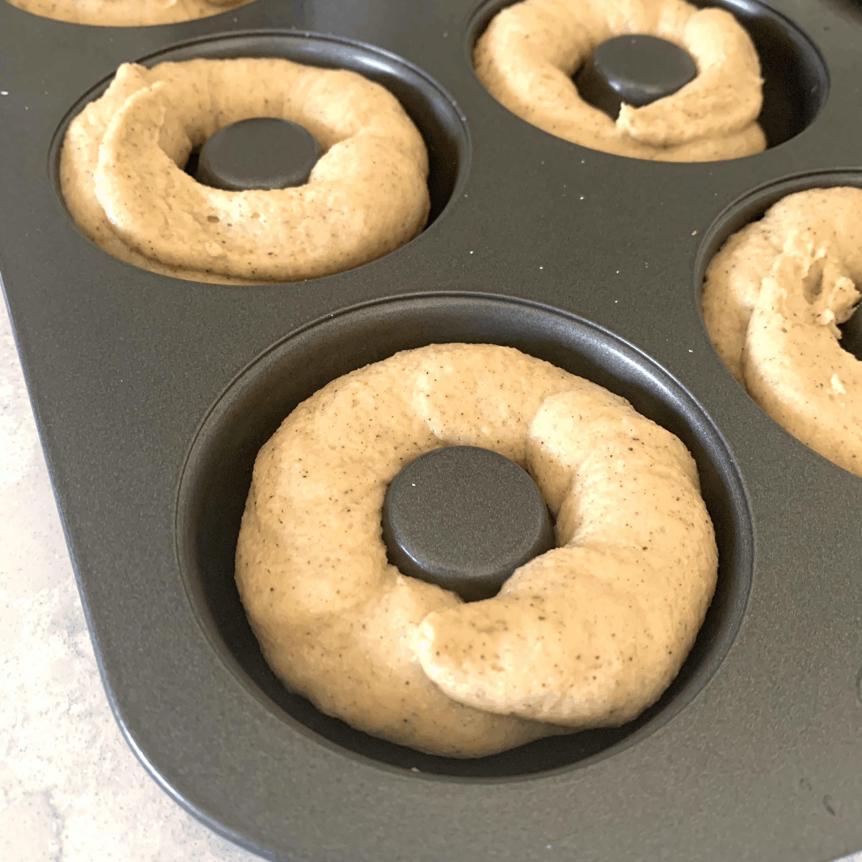 keto donut batter