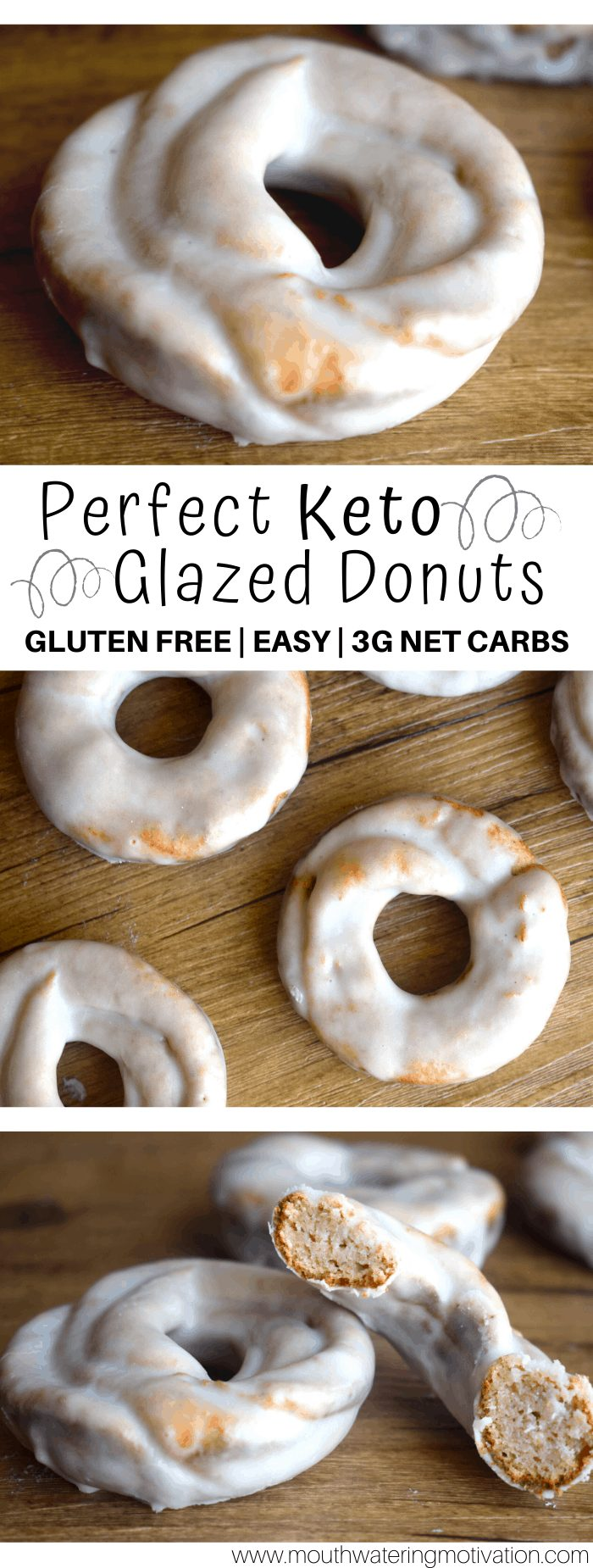 perfect keto glazed donuts