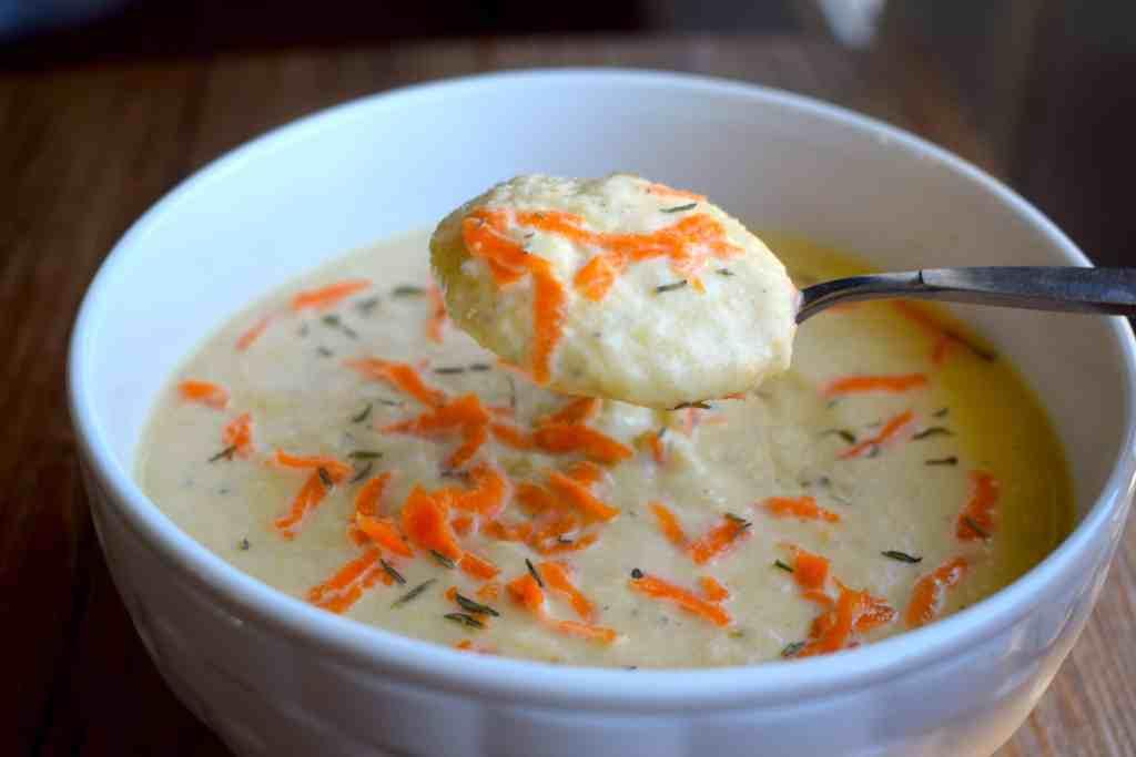keto carrot soup