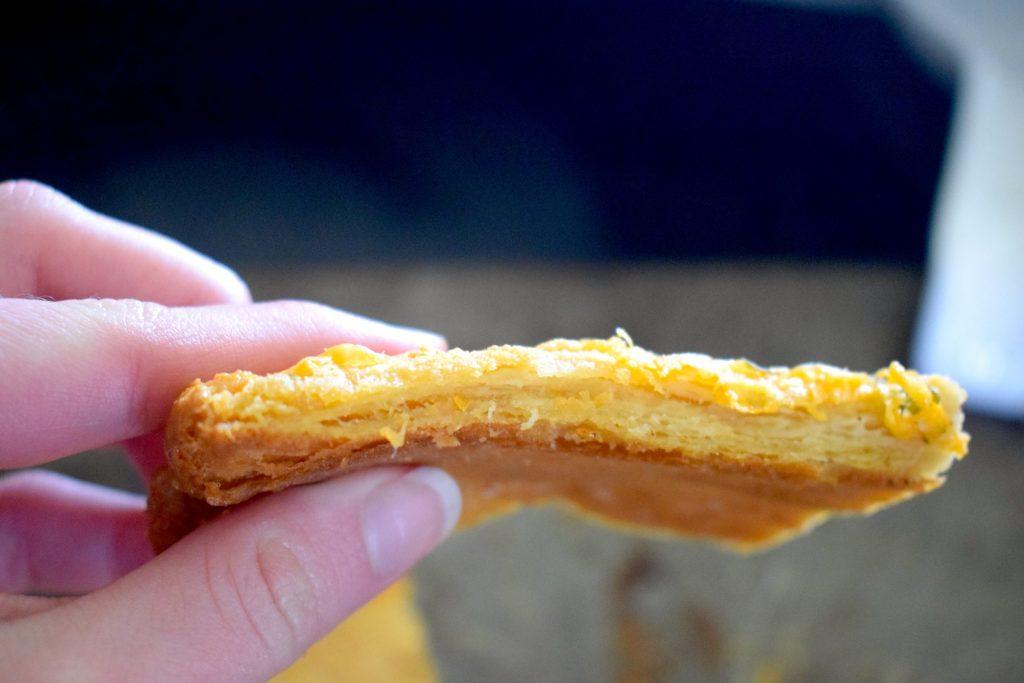 flaky keto puff pastry