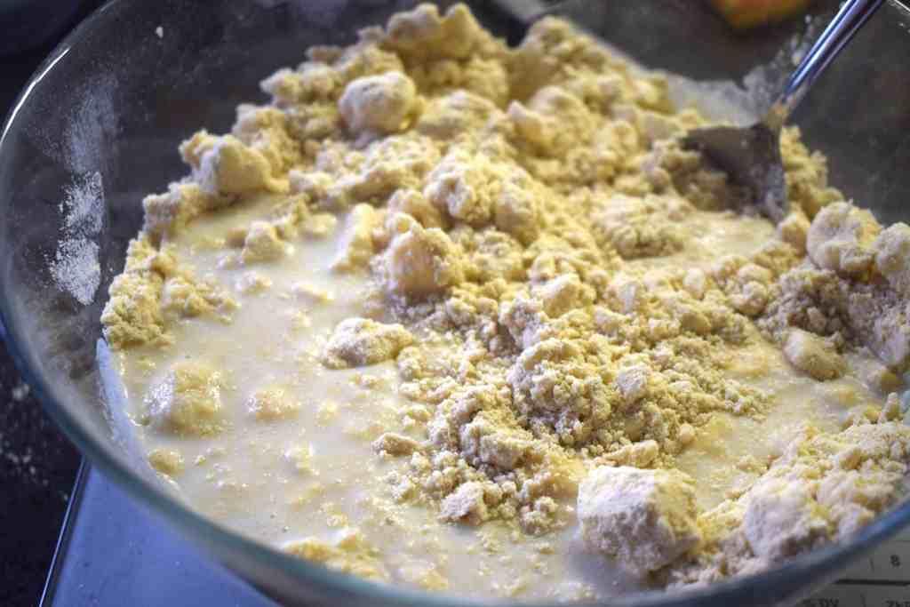 butter milk almond flour vital wheat gluten