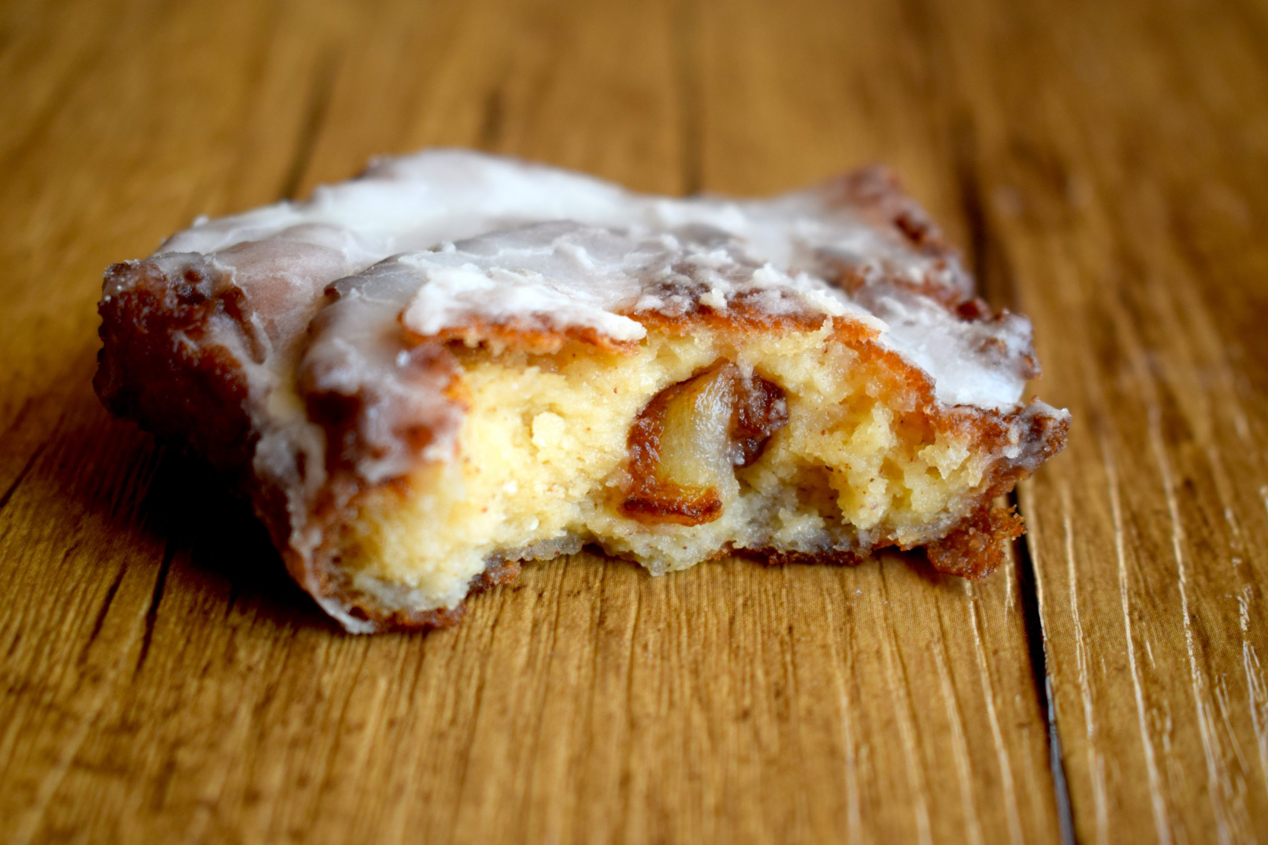 keto apple fritter