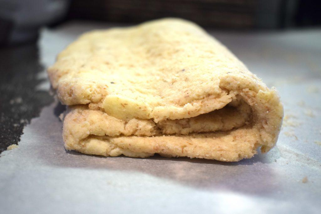 keto gluten free pastry dough