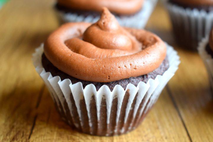 Keto Cappuccino Cupcakes
