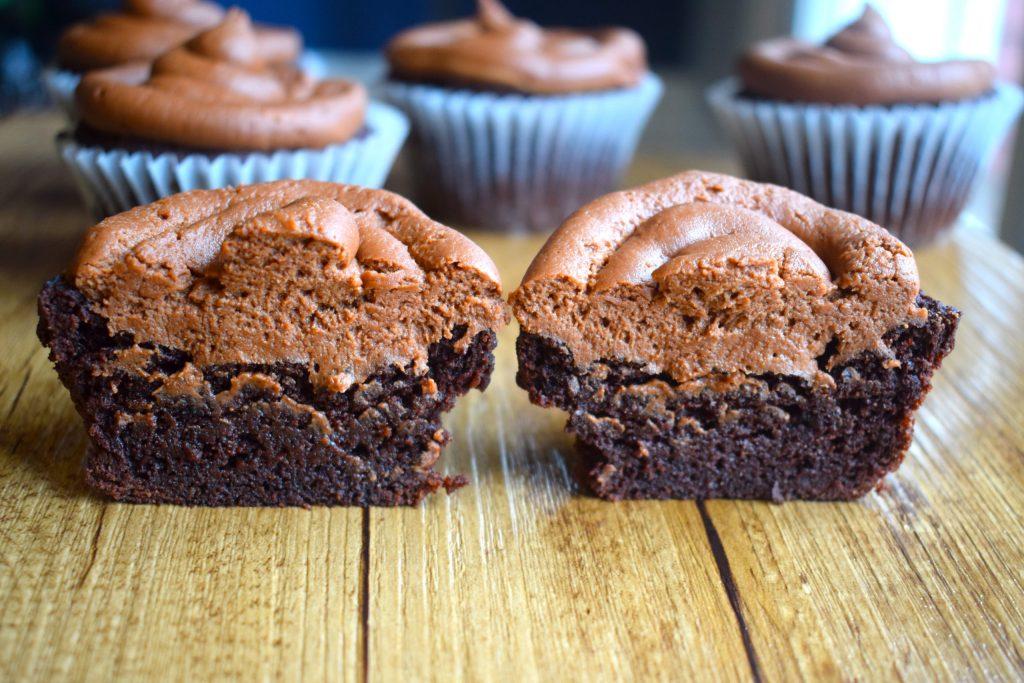 keto coffee cupcakes