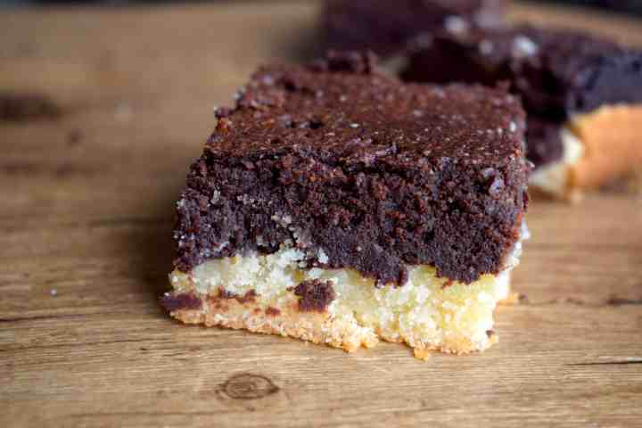 Keto Shortbread Brownies