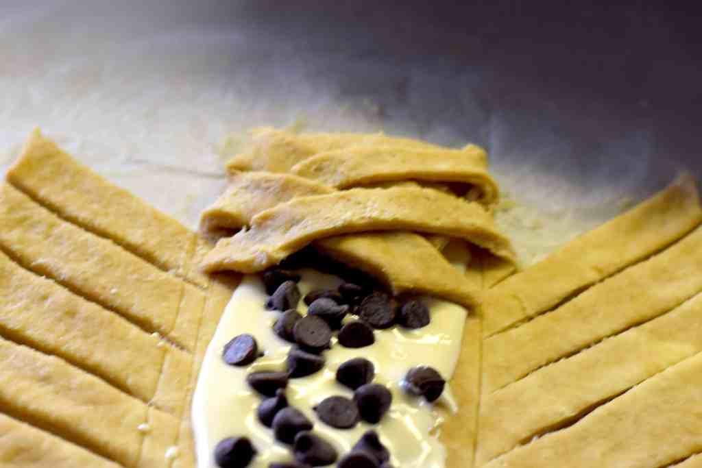 keto cream cheese chocolate pastry