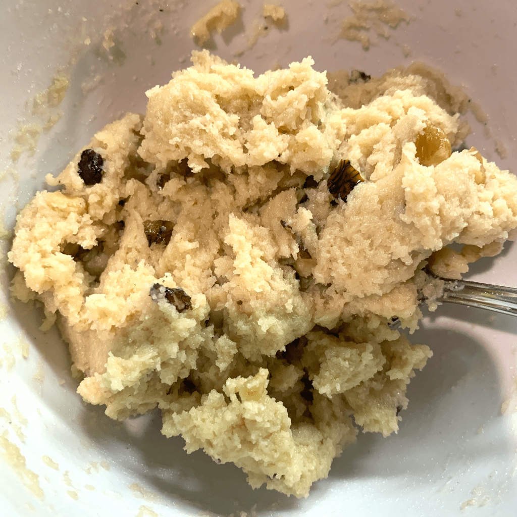 keto maple walnut batter