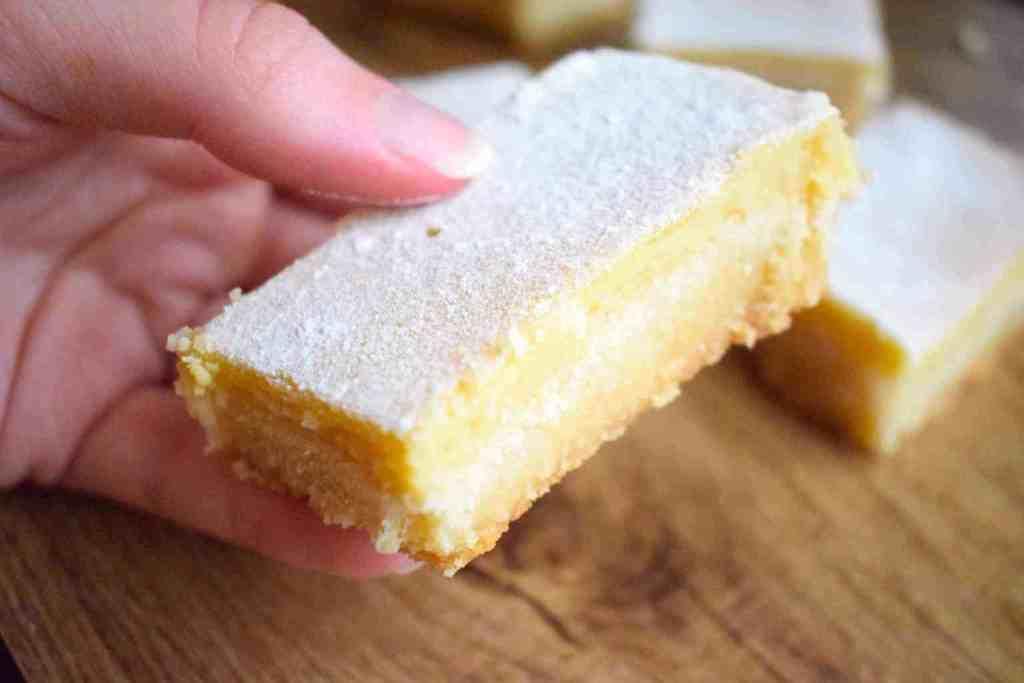 low carb lemon bars recipe