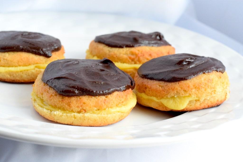 low carb boston cream donuts recipe