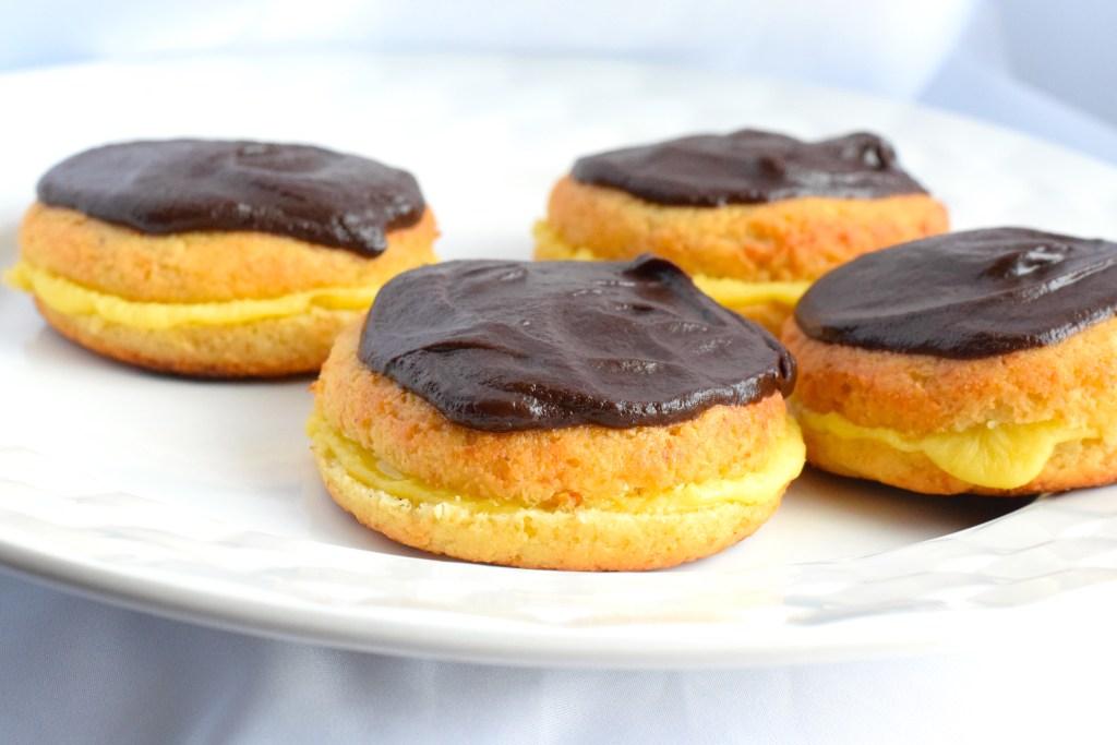 keto boston cream donuts recipe