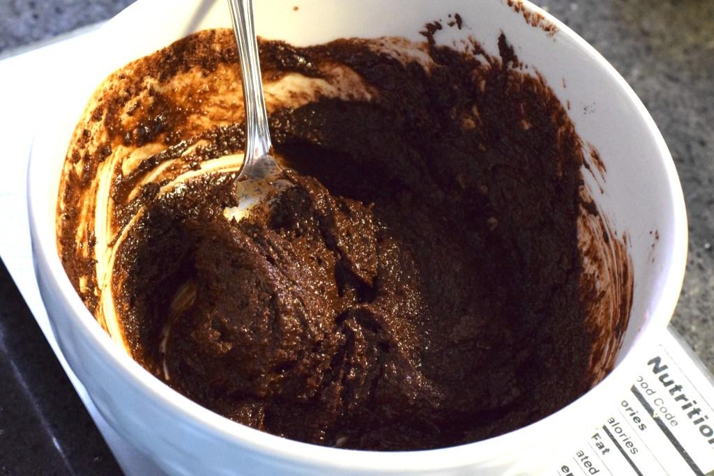 low carb healthy brownie batter