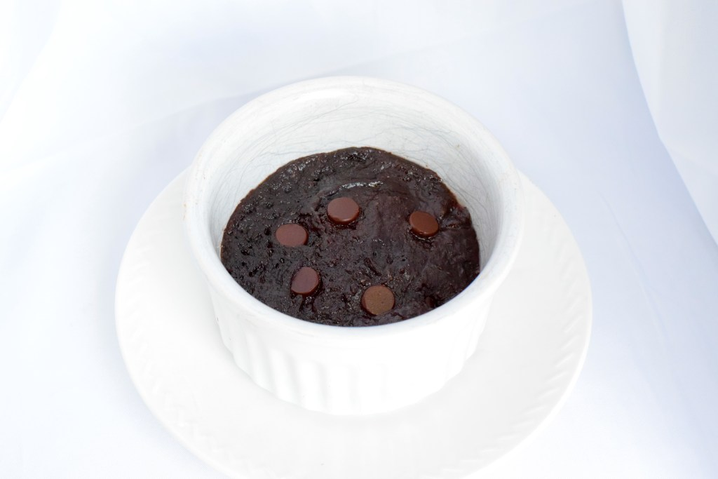 gluten free easy low carb brownie for one