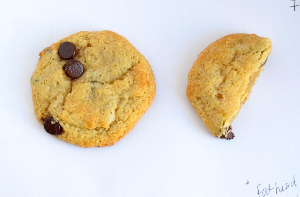 keto mozzarella chocolate chip cookies