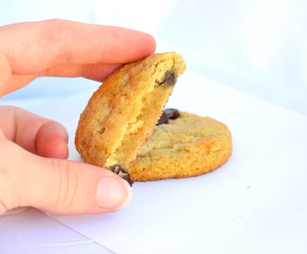 keto fat head dough chocolate chip cookies