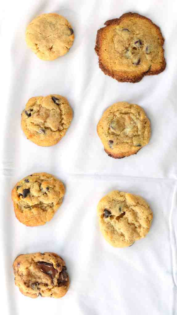 the ultimate keto chocolate chip cookies