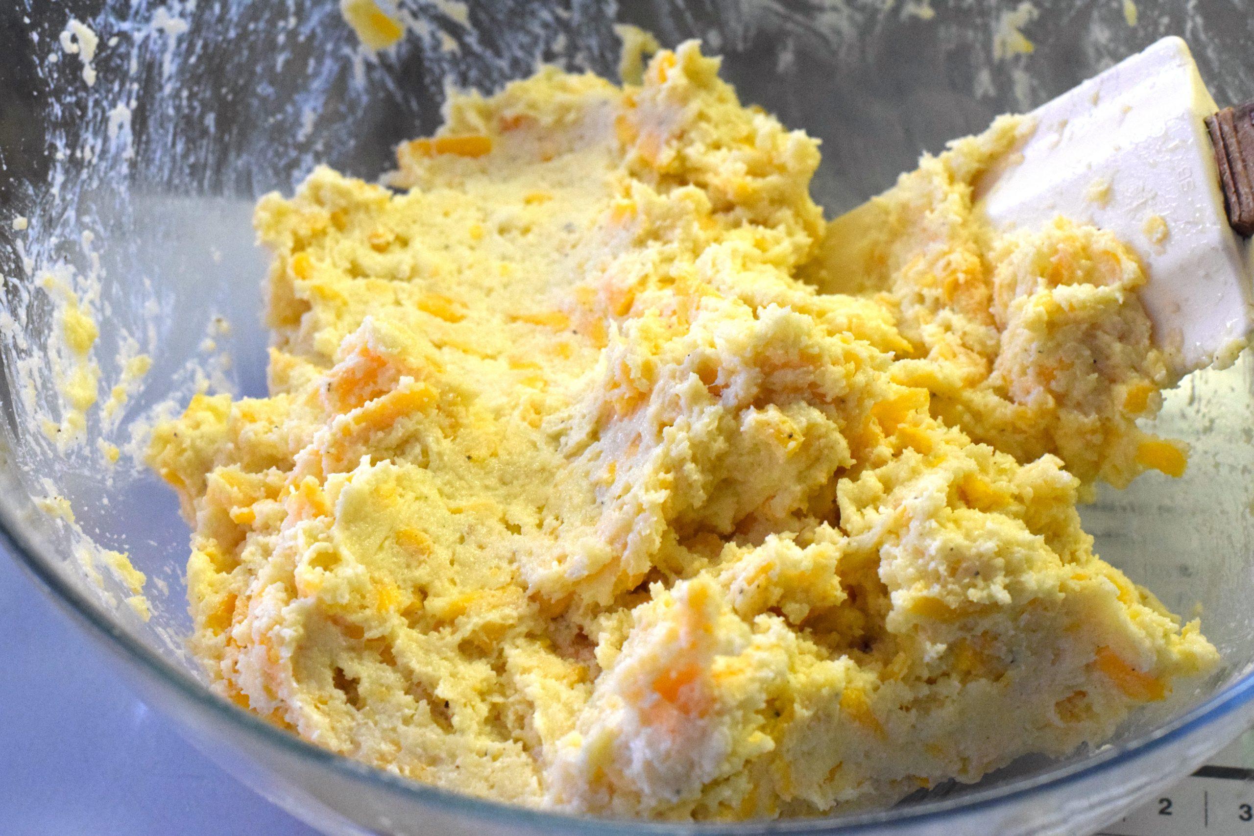 eggs, butter, cheese, almond flour, coconut flour