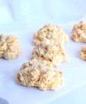 low carb white chocolate peanut butter clusters