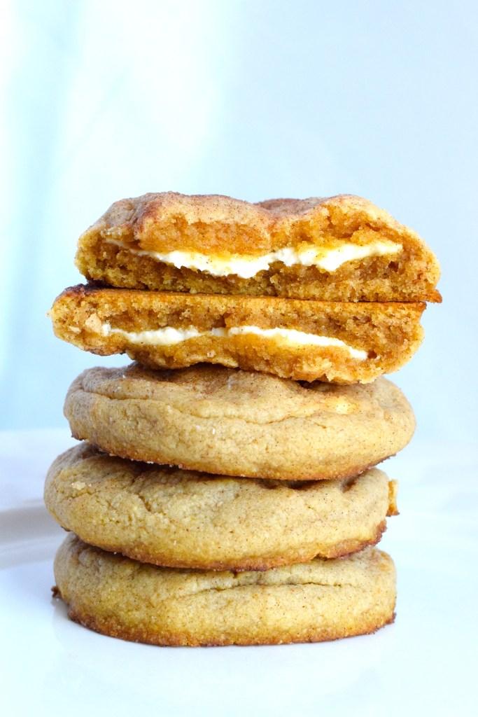 keto cheesecake stuffed snickerdoodle cookies recipe