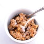 keto low carb crunchy granola