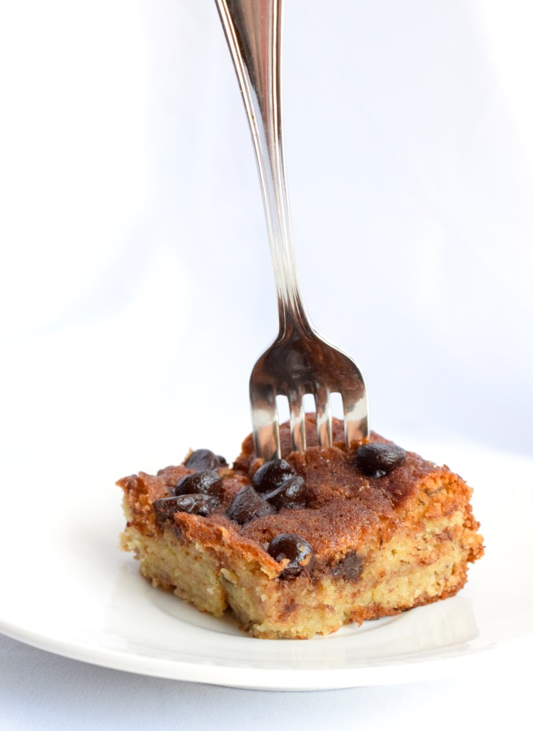 low carb banana coffee cake