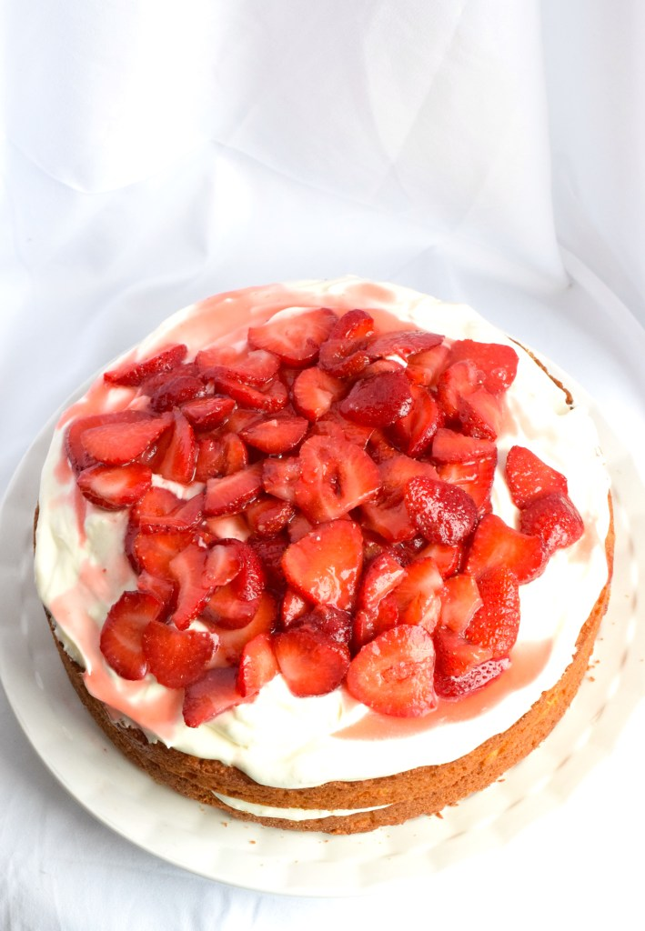 keto strawberry shortcake cheesecake