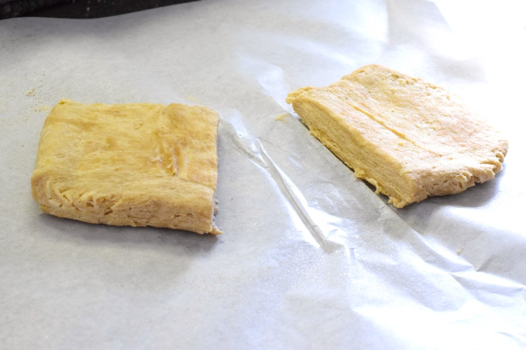 keto flaky puff pastry dough