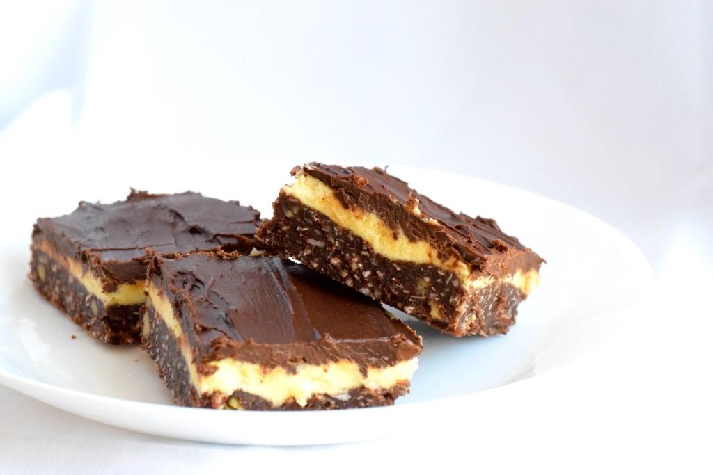 low carb Nanaimo bars recipe