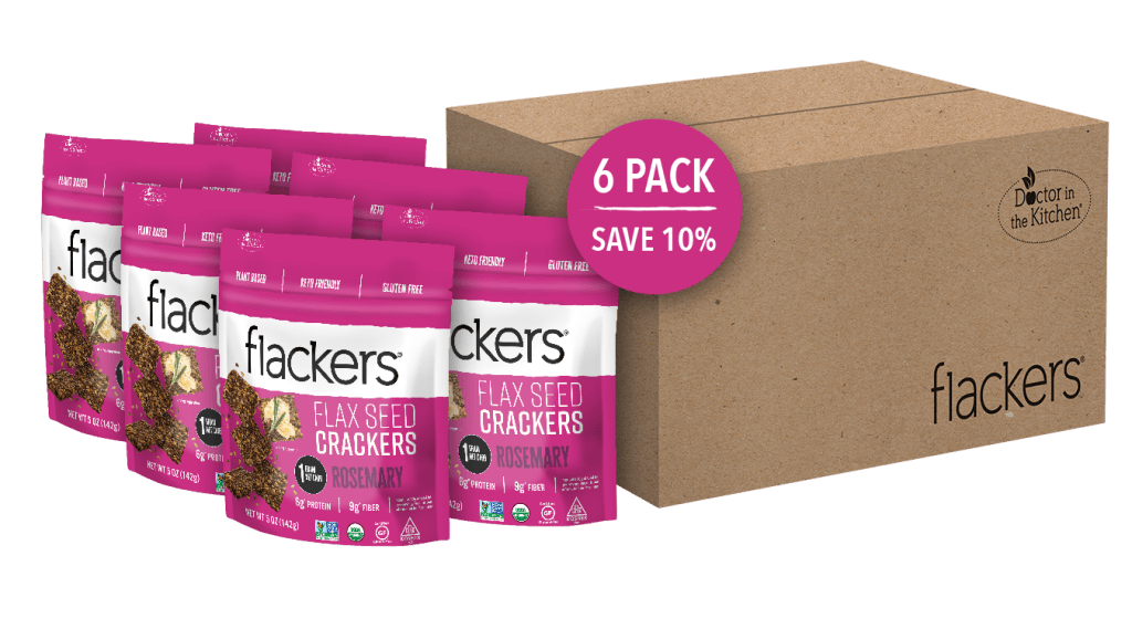 flackers seed crackers rosemary crackers